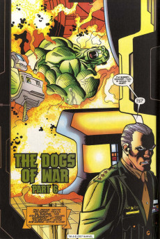 Extrait de Incredible Hulk (The) (Marvel comics - 2000) -19- The Dogs Of War, Part 6