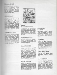Extrait de (DOC) (biographies, entretiens...) - BD 79-80. Annuaire de la bande dessinée