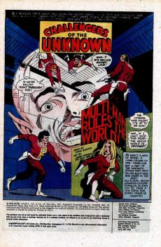 Extrait de Super-Team Family (DC Comics - 1975) -10- Multi-Man Rules the Earth!