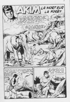 Extrait de Akim (3e série) -37- La mort sur la forêt - Duel sans merci!
