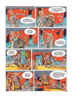 Extrait de Les grosses Têtes, la B.D -1- Tome 1