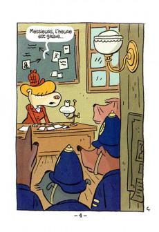 Extrait de Mini-récits et stripbooks Spirou -MR4274- Dog Save the Queen - Une aventure de Virginia Woof