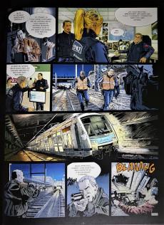 Extrait de Flics du rail -1- Menaces sur le Paris-Bruxelles