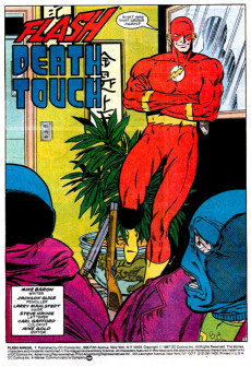 Extrait de Flash Annuals (The) (DC Comics - 1987 series) -AN01- Issue # 1