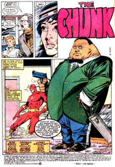 Extrait de Flash (The) Vol.2 (DC comics - 1987) -9- The Chunk!