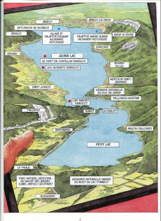 Extrait de Annecy -2- Histoires du Lac d'Annecy