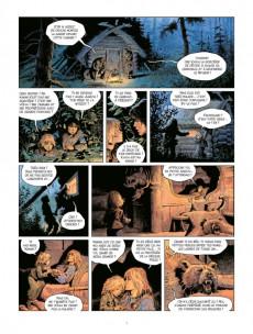Extrait de Thorgal (Les mondes de) - La Jeunesse de Thorgal -8- Les deux bâtards