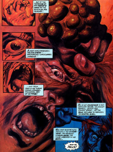Extrait de Marvel Graphic Novel (Marvel comics - 1982) -11- Void Indigo