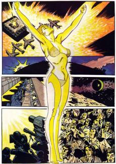 Extrait de Marvel Graphic Novel (Marvel comics - 1982) -12- Dazzler: The Movie