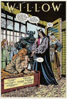 Extrait de Marvel Graphic Novel (Marvel comics - 1982) -36- Willow