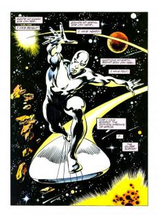 Extrait de Marvel Graphic Novel (Marvel comics - 1982) -38- The Silver Surfer: Judgement Day