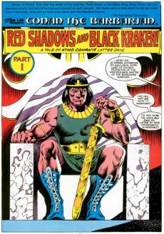 Extrait de Marvel Graphic Novel (Marvel comics - 1982) -42- Conan Of The Isles