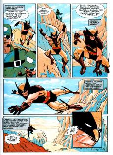 Extrait de Marvel Graphic Novel (Marvel comics - 1982) -50- Wolverine/Nick Fury: The Scorpio Connection