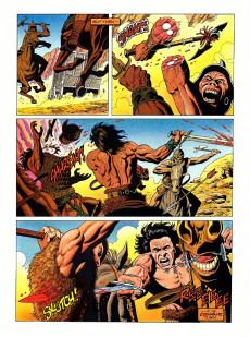Extrait de Marvel Graphic Novel (Marvel comics - 1982) -53- Conan the Barbarian in The Skull of Set