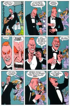 Extrait de Marvel Graphic Novel (Marvel comics - 1982) -54- Roger Rabbit: The Resurrection of Doom