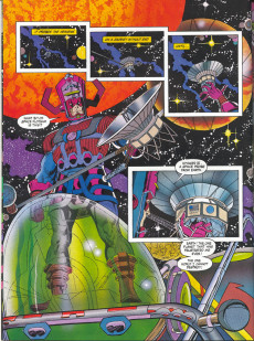 Extrait de Marvel Graphic Novel (Marvel comics - 1982) -58- Silver Surfer: The Enslavers