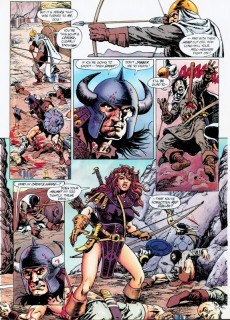 Extrait de Marvel Graphic Novel (Marvel comics - 1982) -73- Conan: The Ravagers Out of Time