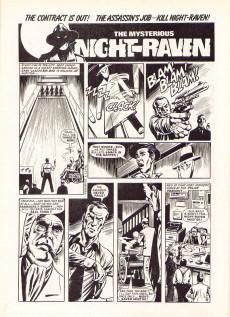 Extrait de Marvel Graphic Novel (Marvel U.K - 1985) -5- Night Raven: The Collected Stories