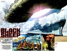 Extrait de Green Lantern Vol.4 (DC Comics - 2005) -6- Black Sheep