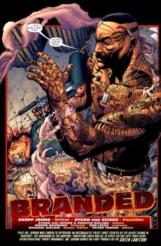 Extrait de Green Lantern Vol.4 (DC Comics - 2005) -9- Branded