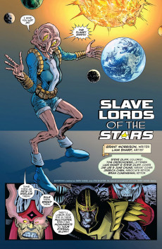 Extrait de Green Lantern (The) (2019)  -3- Slave Lords of the Stars