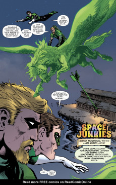 Extrait de Green Lantern (The) (2019)  -8- Space Junkies