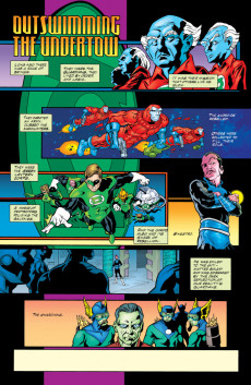 Extrait de Green lantern (1990) -131- Outswimming The Undertow