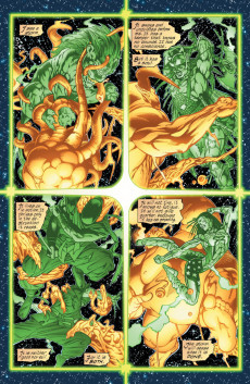 Extrait de Green lantern (1990) -145- Battle Of fire And Light