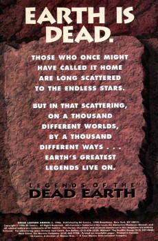 Extrait de Green lantern (1990) -AN1996- Legends Of The Dead Earth