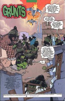 Extrait de Green lantern (1990) -AN1999- Grunts