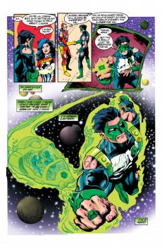 Extrait de Green lantern (1990) -75- Last Stand