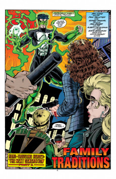 Extrait de Green lantern (1990) -76- Hard-Traveling Heroes: The Next Generation, Part 1: Family Traditions