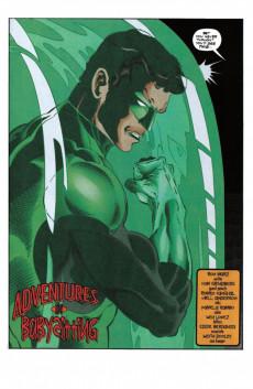 Extrait de Green lantern (1990) -82- Adventures In Babaysitting