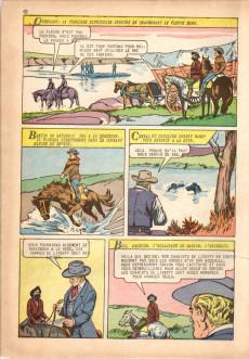 Extrait de Classiques illustrés (1re Série) -4- La poursuite des chariots