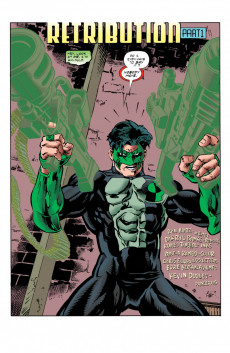Extrait de Green lantern (1990) -83- Retribution, Part 1