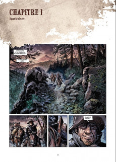 Extrait de West Legends -2- Billy the Kid, The Lincoln county war