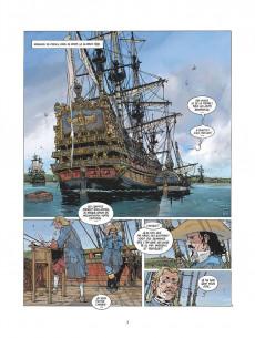 Extrait de Les grandes batailles navales -14- La Hougue