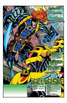 Extrait de Green lantern (1990) -89- Man & Machine