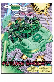 Extrait de Green lantern (1990) -98- Future Shock, Part 1