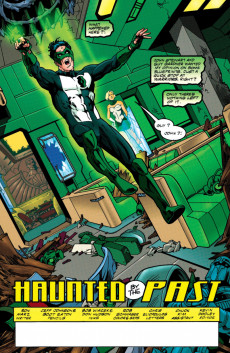 Extrait de Green lantern (1990) -105- Haunted By The Past