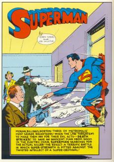 Extrait de Superman (1939) -7- Issue #7