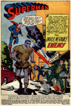 Extrait de Superman (1939) -AN02- winter 1960