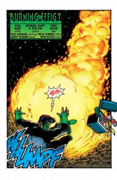 Extrait de Green lantern Vol.3 (DC Comics - 1990) -114- Burning In Effigy, part 2