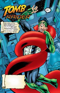 Extrait de Green lantern (1990) -125- Tomb Raider