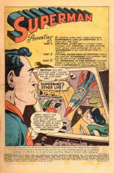 Extrait de Superman (1939) -AN05- The Superman Family on Krypton!