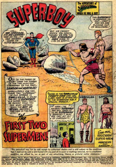 Extrait de Superman (1939) -AN06- The Greatest Super-Heroes of All Time!