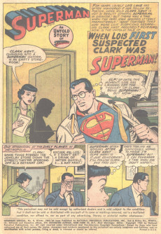 Extrait de Superman (1939) -AN08- Untold Stories and Secret Origins!