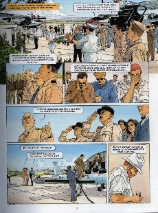 Extrait de Biggles -20- Feu sur la Provence 2