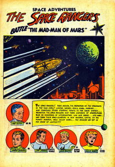 Extrait de Space Adventures (Charlton - 1952) -1- Issue # 1