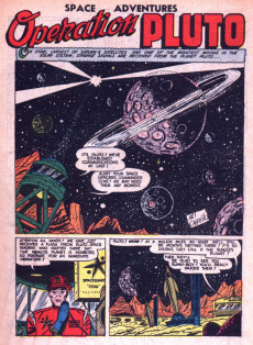 Extrait de Space Adventures (Charlton - 1952) -2- Issue # 2